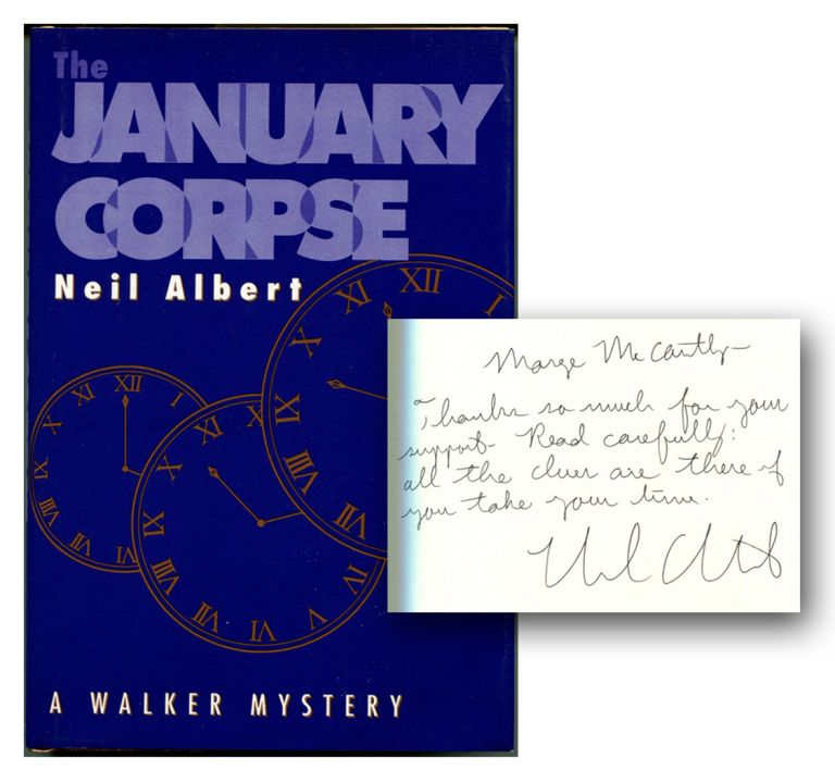 THE JANUARY CORPSE. Neil Albert.