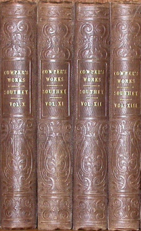 THE WORKS OF WILLIAM COWPER: His Poems, Correspondence and Translations. William Cowper.