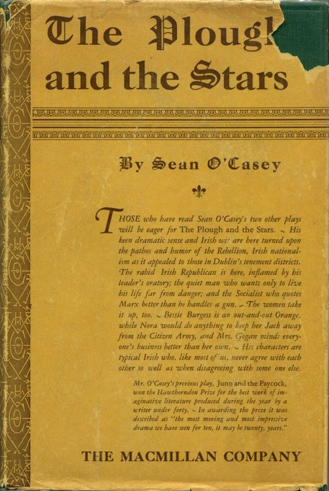 THE PLOUGH AND THE STARS A Tragedy in Four Acts.