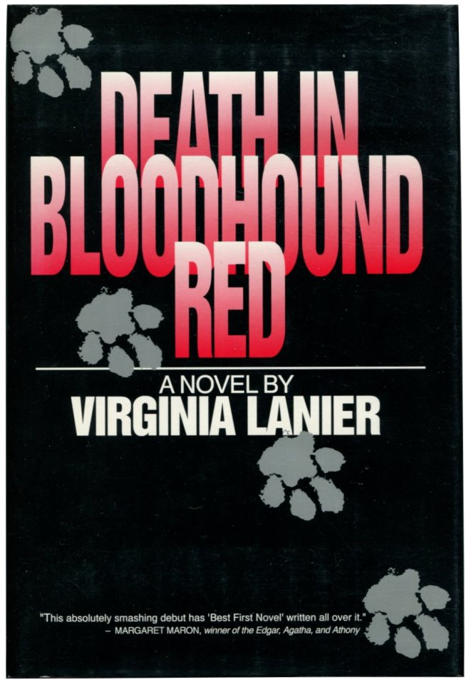 DEATH IN BLOODHOUND RED.