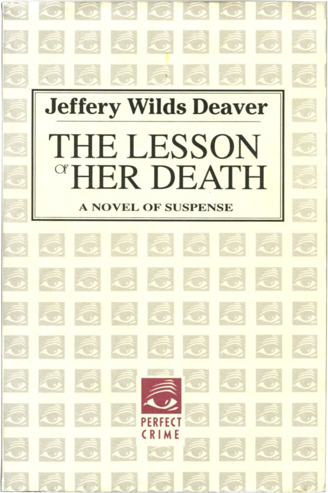 THE LESSON OF HER DEATH.