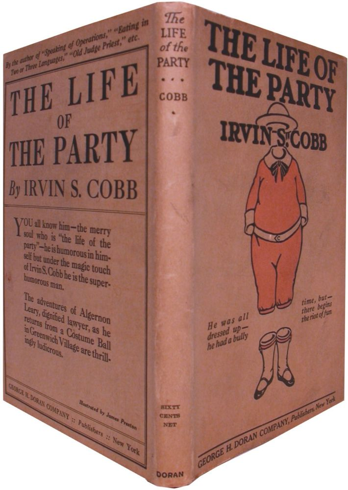 THE LIFE OF THE PARTY. Irvin S. Cobb.