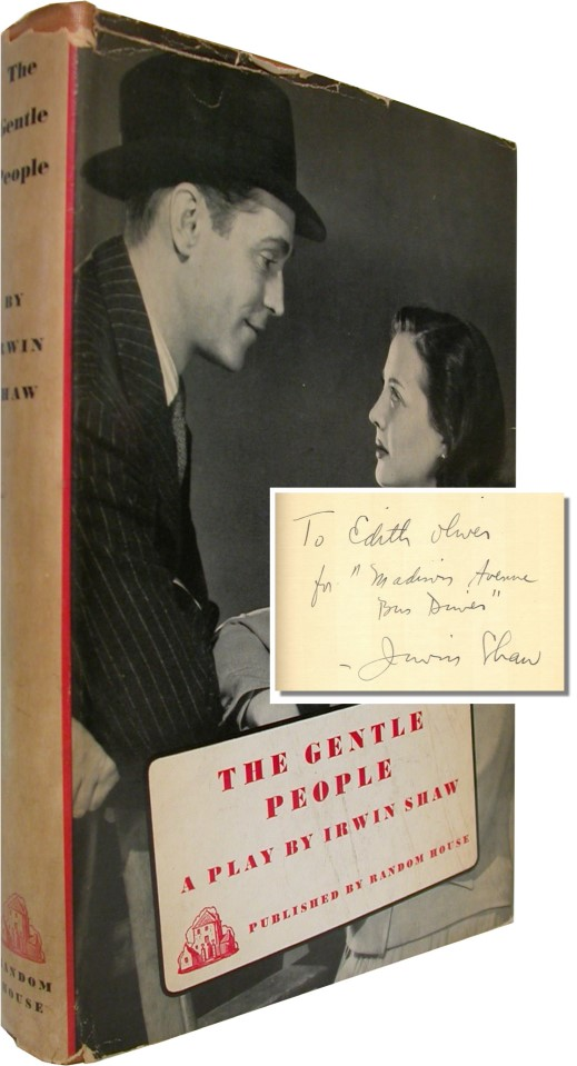 THE GENTLE PEOPLE A Brooklyn Fable. Irwin Shaw.