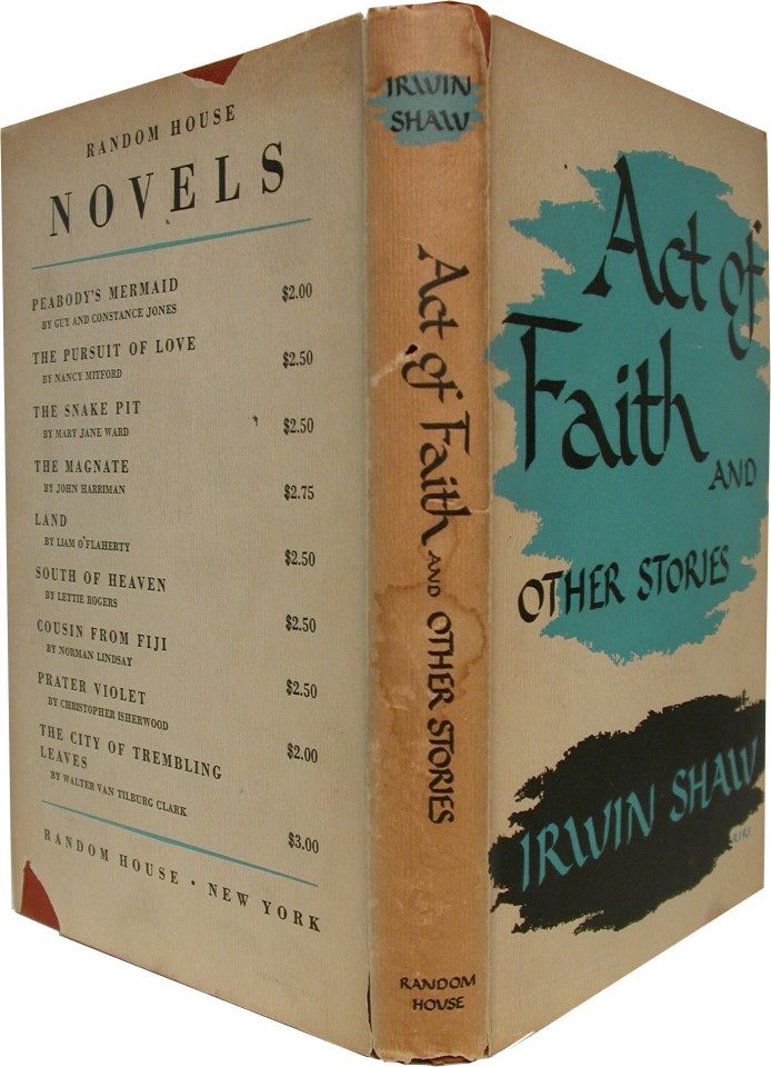 ACT OF FAITH: And Other Stories.