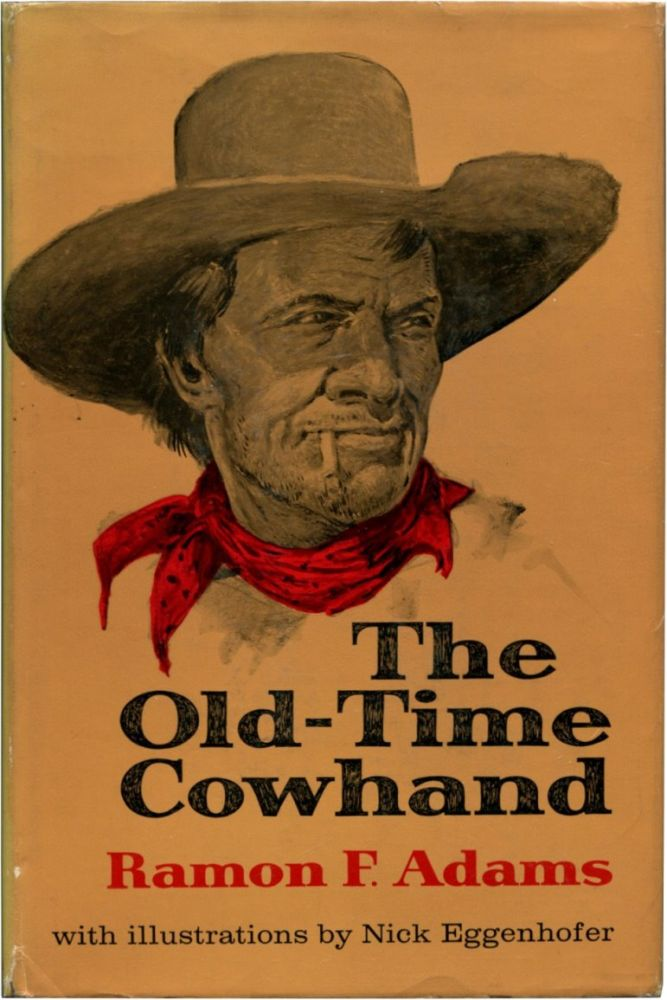 THE OLD-TIME COWHAND.