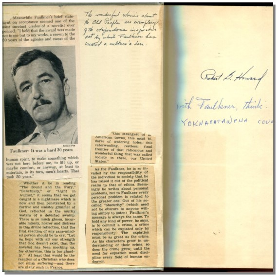 COLLECTED STORIES OF WILLIAM FAULKNER.