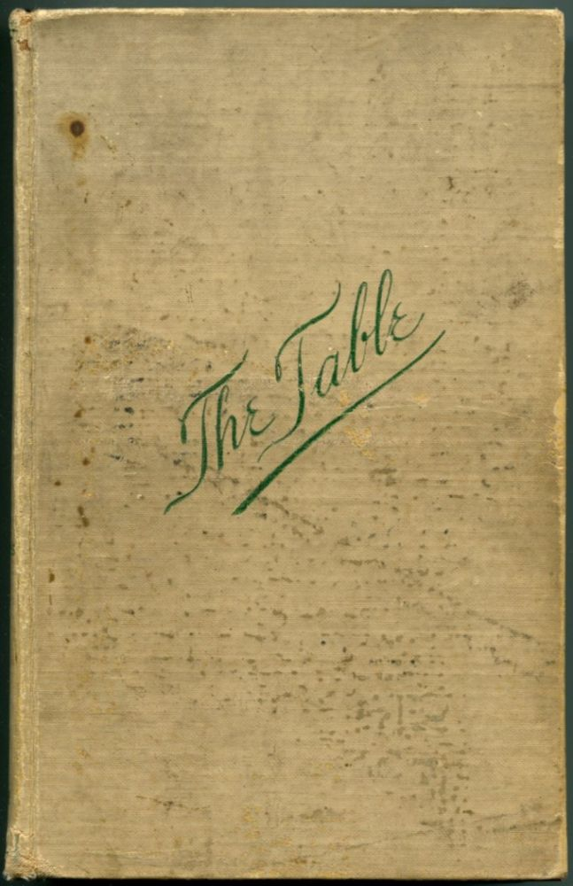 THE TABLE: How to Buy Food, How to Cook It, and How to Serve It. Cookbook, Alessandro Filippini.