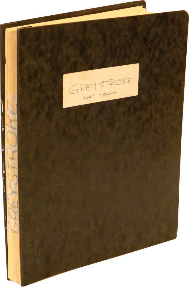 """SCREENPLAY FOR THE MOVIE """"GREYSTROKE"""": Photocopy in Pressbound Report Covers. Edgar Rice Burroughs, Robert Towne."""