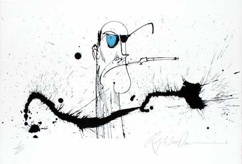 OLD BLUE EYE: Limited Edition, Signed Silkscreen Print.