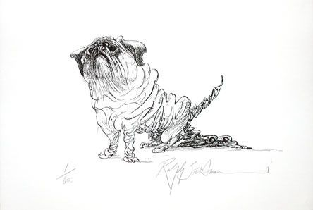 POOPSIE: Limited Edition, Signed Silkscreen Print. Ralph Steadman.