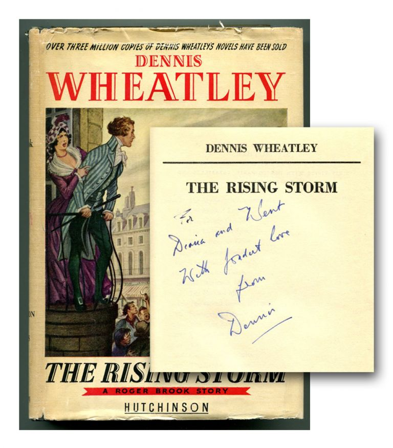 THE RISING STORM: A ROGER BROOK STORY. Dennis Wheatley.