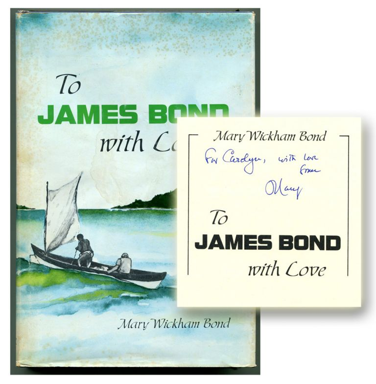 TO JAMES BOND WITH LOVE.