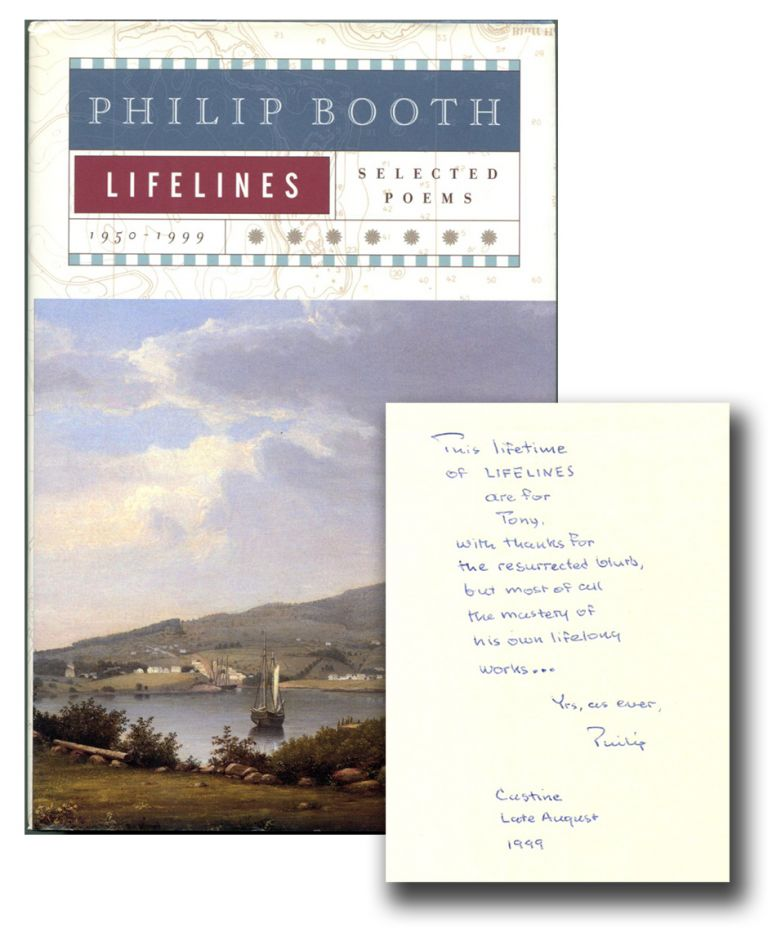 LIFELINES: Selected Poems 1950-1999. Philip Booth.