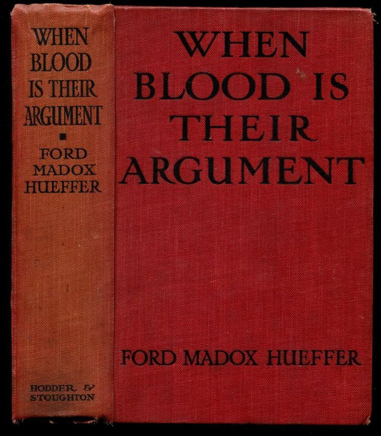 WHEN BLOOD IS THEIR ARGUMENT: An Analysis of Prussian Culture.