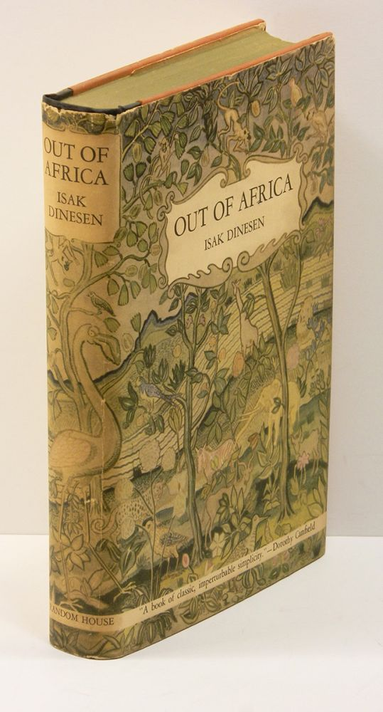 OUT OF AFRICA. Isak Dinesen, Karen Blixen.