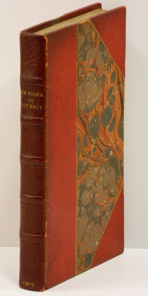 SIR ROGER DE COVERLY: And Other Essays from the Spectator. Joseph Addison, Arthur Symons, Richard Steele.