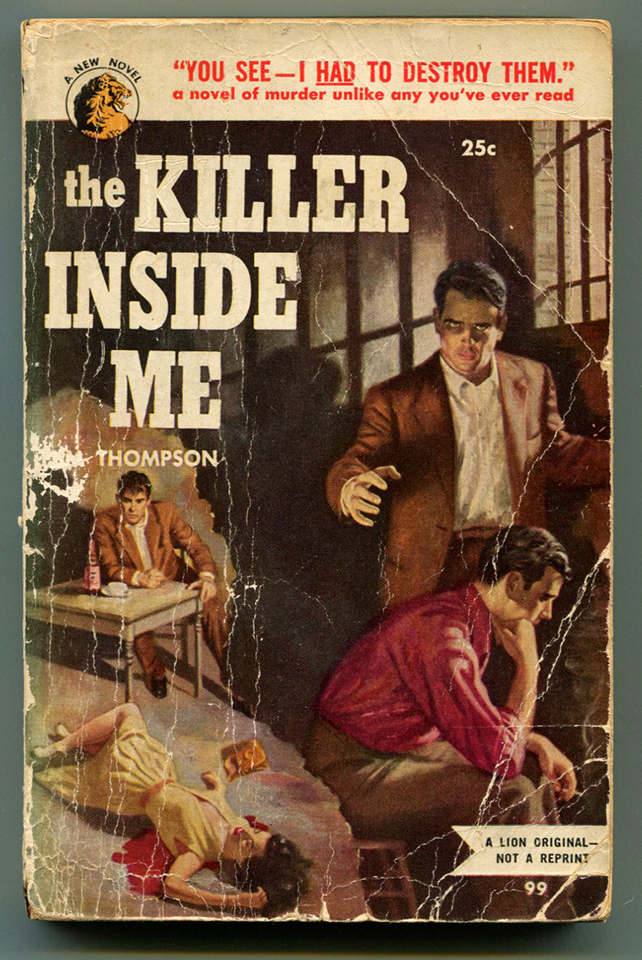 THE KILLER INSIDE ME. Jim Thompson.