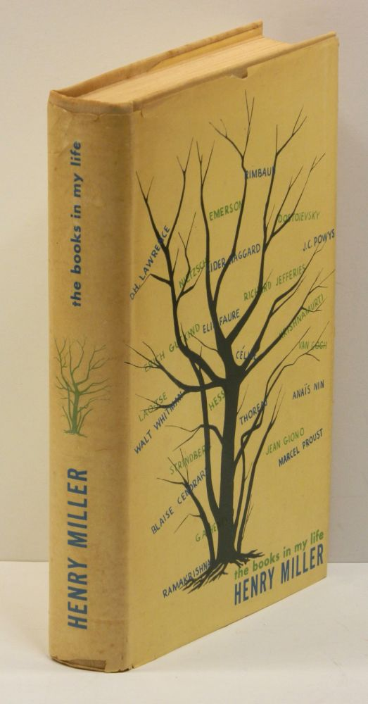 THE BOOKS IN MY LIFE. Henry Miller.