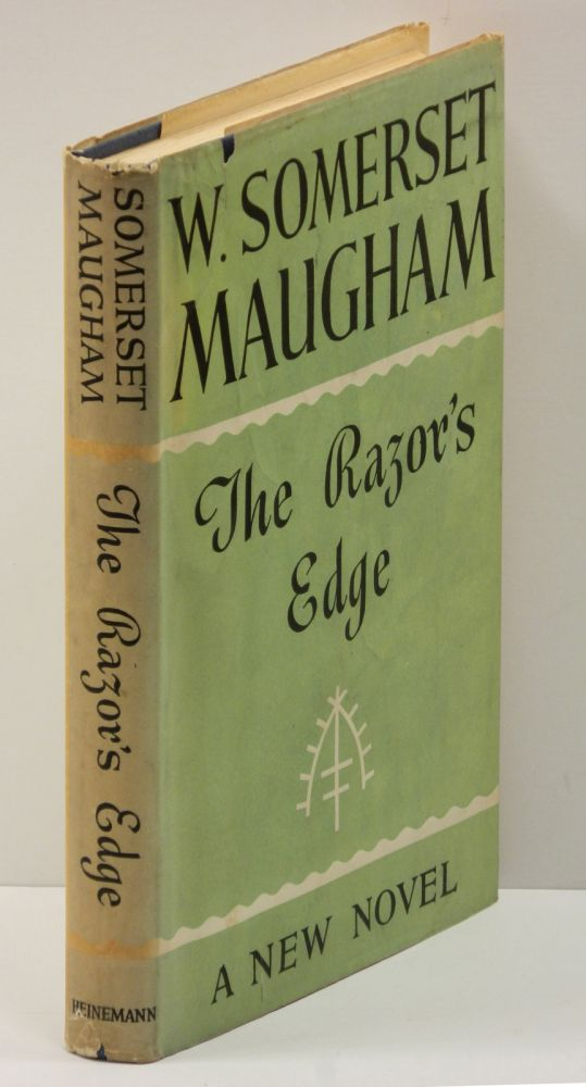 THE RAZOR'S EDGE: A Novel. W. Somerset Maugham.