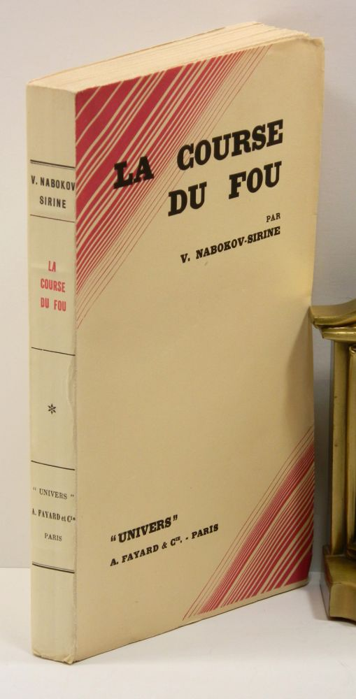 LA COURSE DU FOU [THE DEFENSE]. Vladimir Nabokov, V. Nabokov-Sirine.