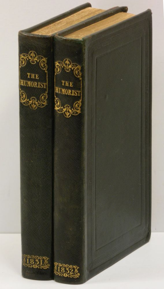 THE HUMORIST: A Companion for the Christmas Fireside [Two volumes]. W. H. Harrison.