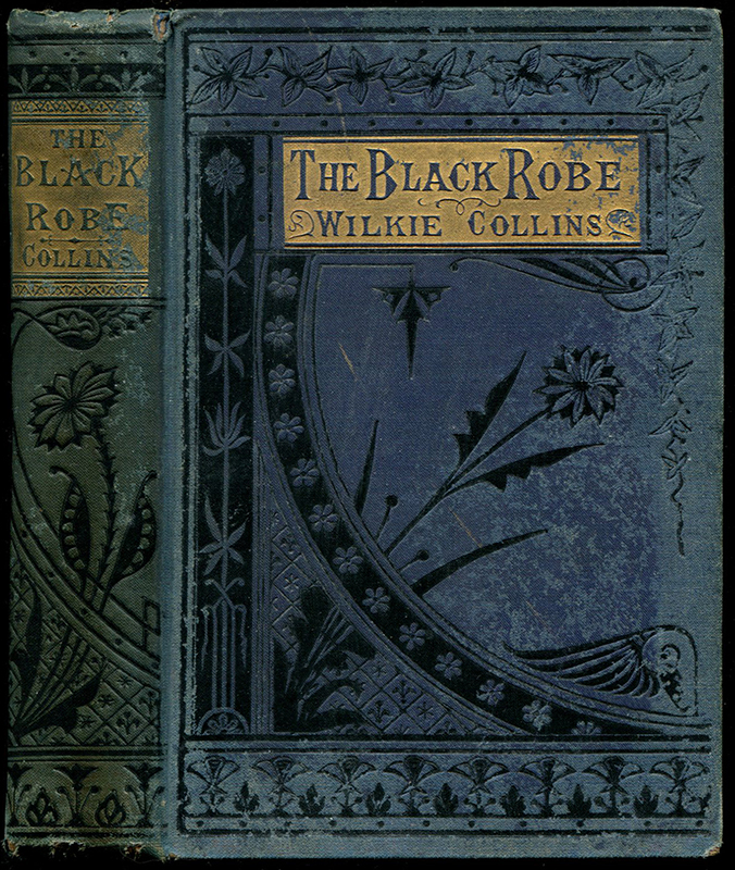 THE BLACK ROBE. Wilkie Collins.