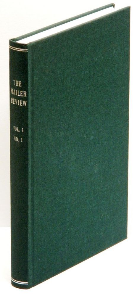 THE MAILER REVIEW: Volume I Number I.