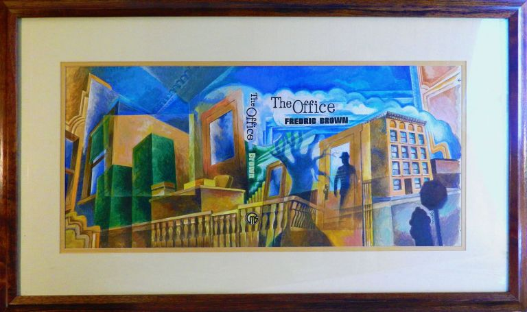 THE OFFICE; [BOOK & ORIGINAL PAINTING]. Fredric. Philip Jose Farmer Brown, introduction.