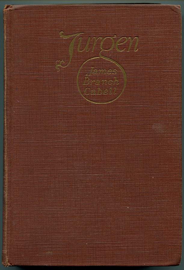 JURGEN: A Comedy of Justice. James Branch Cabell.