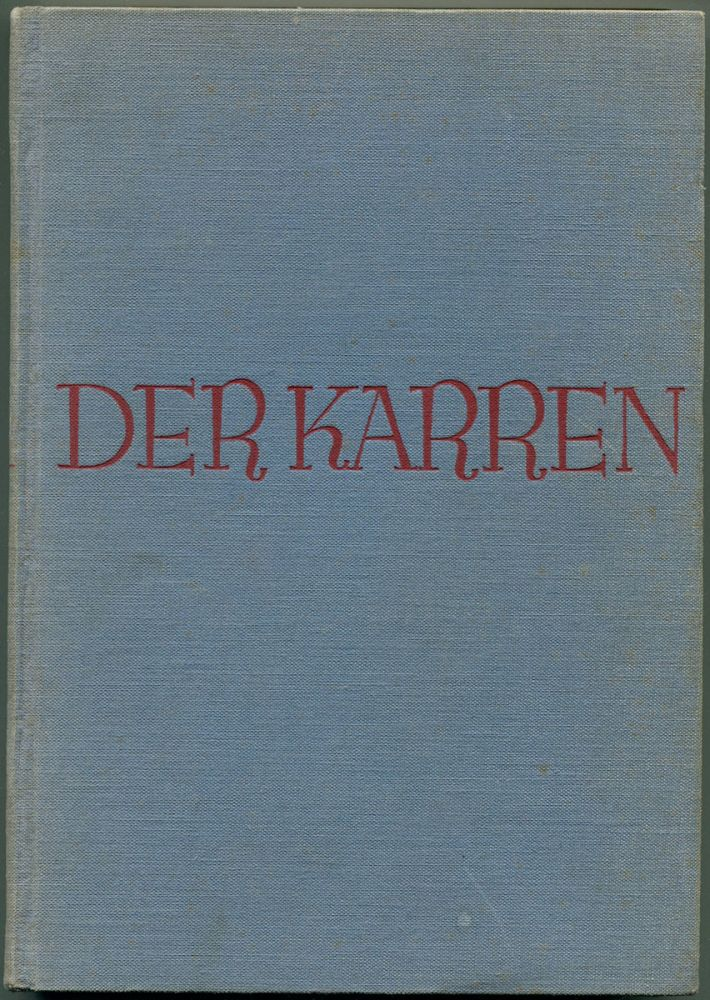DER KARREN [The Carreta]. B. Traven.