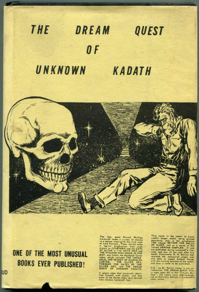 THE DREAM QUEST OF UNKNOWN KADATH. Howard Phillips Lovecraft.