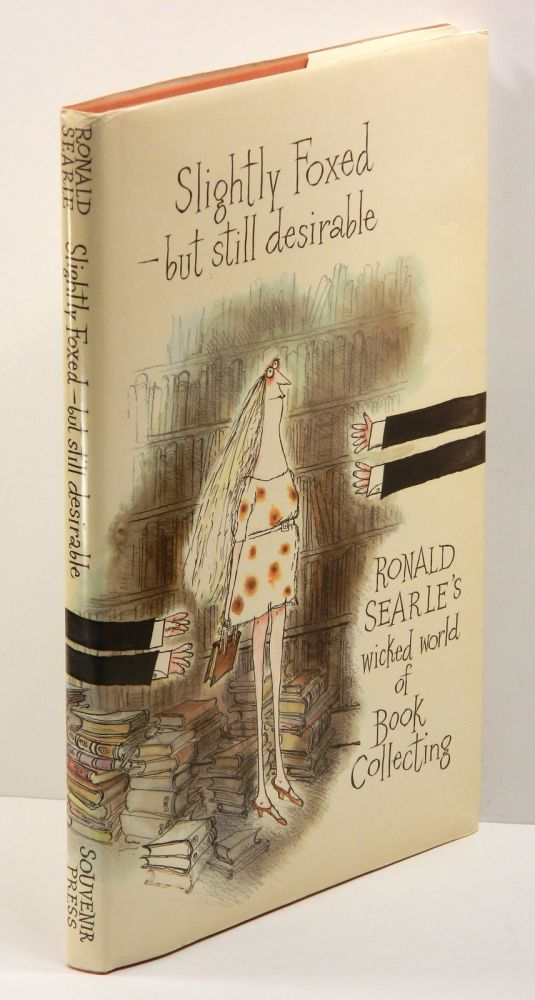 SLIGHTLY FOXED - BUT STILL DESIRABLE. Ronald Searle.