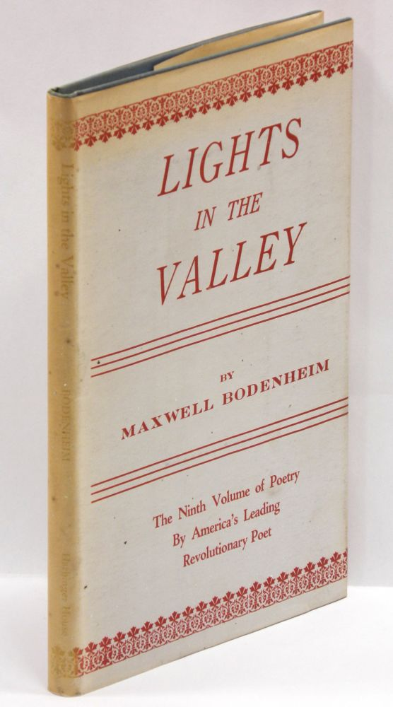 LIGHTS IN THE VALLEY. Maxwell Bodenheim.