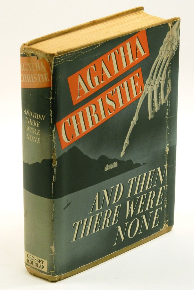 AND THEN THERE WERE NONE. Agatha Christie.
