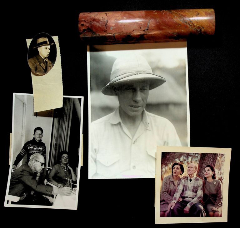 JOURNALIST'S ARCHIVE OF AN INVESTIGATION INTO THE IDENTITY OF B. TRAVEN: Includes photographs of Traven, photographs taken by Traven, and photographs of the spreading of his ashes. B. Traven, Sydney Paulden Donald McCormick.