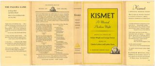 KISMET: A Musical Arabian Night.