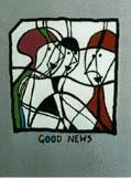 """GOOD NEWS"", DELUXE EDITION: Limited Edition, Signed Silkscreen Print. Kurt Vonnegut."