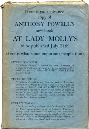 AT LADY MOLLY'S. Anthony Powell.
