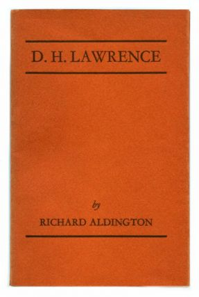 D. H. LAWRENCE. D. H. Lawrence.