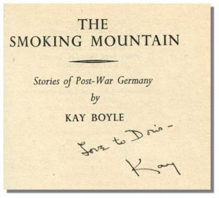 THE SMOKING MOUNTAIN: Stories of Post-War Germany.
