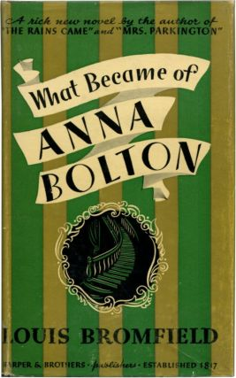 WHAT BECAME OF ANNA BOLTON.