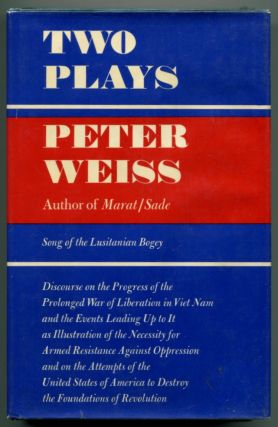 TWO PLAYS. Peter Weiss.