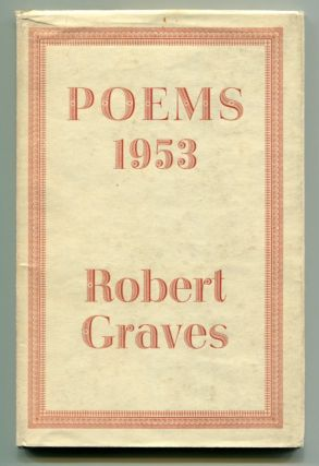 POEMS 1953. Robert Graves