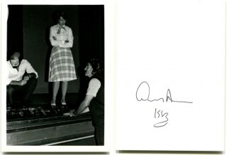 THREE AUTOGRAPH LETTERS SIGNED and Autographed Photographs