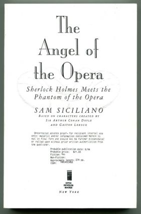 THE ANGEL OF THE OPERA.