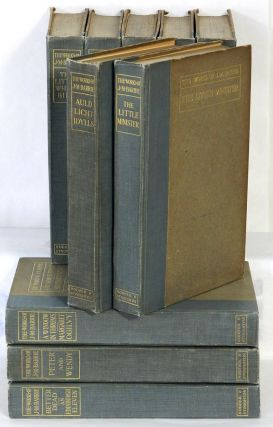 THE WORKS OF J. M. BARRIE; [The Kirriemuir Edition, in Ten Volumes]. J. M. Barrie.