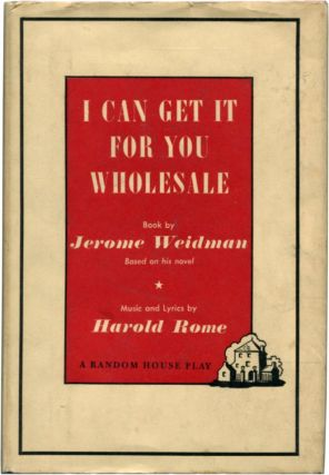 I CAN GET IT FOR YOU WHOLESALE A Musical Play.
