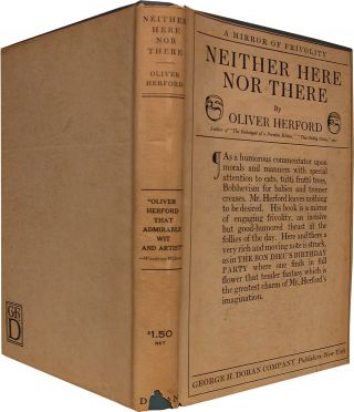 NEITHER HERE NOR THERE. Oliver Herford.