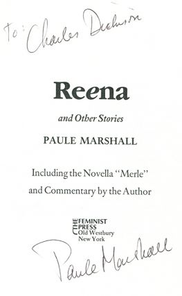 REENA: And Other Stories.