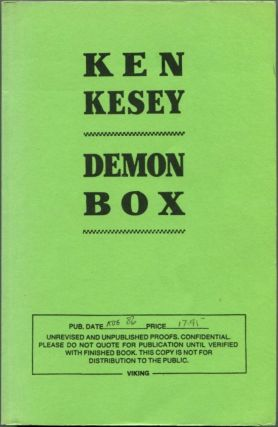 DEMON BOX. Ken Kesey.